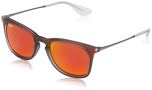 Ray-Ban - Lunette de soleil RB4221 SHOT RED RUBBER (SHOT RED RUBBER)