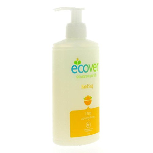 Ecover Flüssige Handseife Citrus & Orange Blossom (250 ml) - Packung mit 2 (Almond Flüssige Handseife)