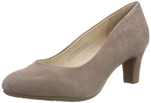 Bugatti Damen 412637703400 Pumps, Beige (Sand 5300), 42 EU - Leder Pumps