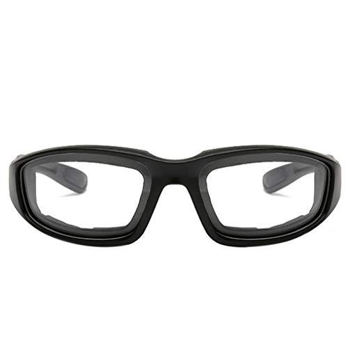 Junecat Unisex polarisierte Brillen Fahrradbrillen Sonnenbrillen Sonnenbrillen Tactical Ski Sonnenbrillen Sport (Kinder-ski-schutzbrillen, Klare Linse)