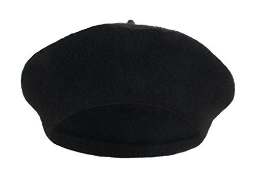 La Vogue-Cappello Primavera Causale Baschi Berretti da Donna Cappello Nero