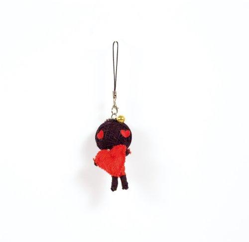Voodoo/Gag/Gimmick/Hingucker: Handy-/Schlüsselanhänger Vodoodoo-Puppe LIEBE