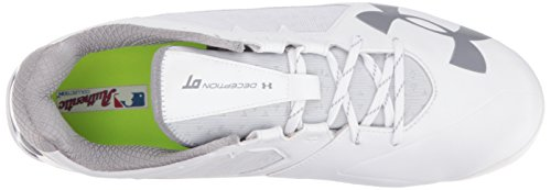Under ArmourUnder Armour Mens Deception Low DiamondTips Baseball Cleats - Deception Low Diamondtips Baseball Cleats da uomo White/white