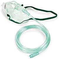 OxyStore - Scatola da 50 pezzi - maschera per ossigenoterapia