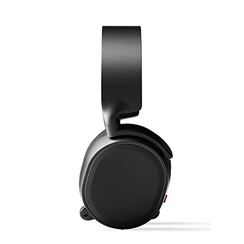 VSousT Gaming Headset 7.1 Surround-Kanal-Kopfhörer mit Mikrofon Gaming-Headset für PC, Xbox One, Nintendo Switch, VR, Android und iOS (Color : Black) (Sonic-kabel Android)