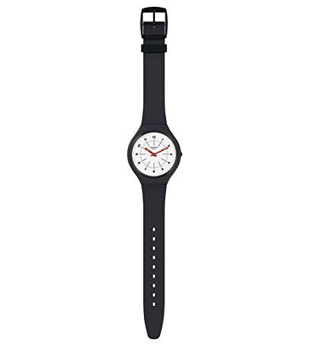 Swatch Reloj Analógico para Unisex Adultos de Cuarzo con Correa en Silicona SVUM104