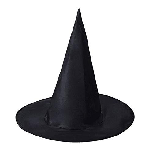 WEYQ Hexenhut Hüte für Kostüm Schwarz Kinder Hexen Halloween Spielzeug Puppe Frauen Raum Top Zubehör Glow Kleid Stirnband Dark Toy Mini in Filz Karneval 10er Pack (Puppe Kostüm Leicht)