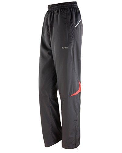 Spiro Pantalon de Sport - Femme Black/Red