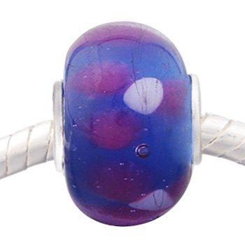 Andante-Stones Silber Murano Glas Bead
