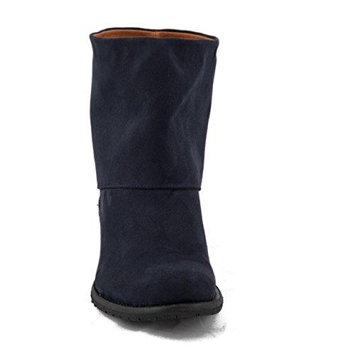 NAE Mira Blau - Damen Vegan Stiefel - 4