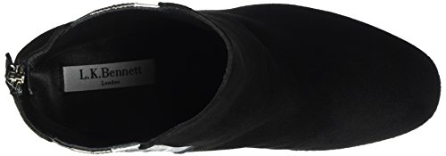 LK BENNETT Serafina, Bottes Classiques Femme Multicolore (BLACK)
