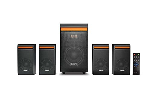 Philips SPA8140B/94 4.1 Channel Multimedia Speaker System