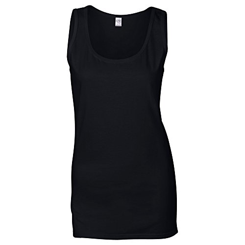 "Gildan Softstyle""¢ womens tank top Black"