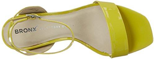Bronx Bx 1243 Bclassyx, Chaussures À Talons Avec T-strap Femme Vert (lime)