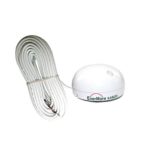 Evermore Marine 48 Kanal GPS Empfänger SA-920 RS-232 Sirf IV Chip für VHF Nexus 2000, Nexus 2500, VHF Nexus S15 Silva, VHF RT550DSC…* - NMEA 0183 12-24 Volt Sensibilität -163dBm -