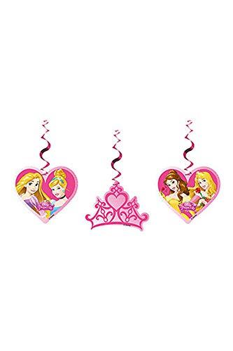 Disney Princess Zum Aufhängen Party Dekorationen, 3Stück
