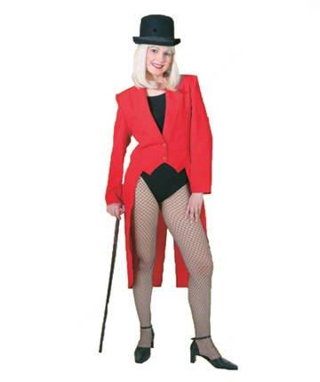 - Roter Frack Kostüm
