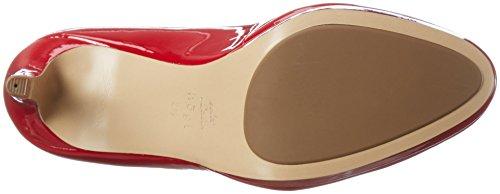 Högl2-12 8004 - Scarpe con Tacco Donna Rosso (Red4000)