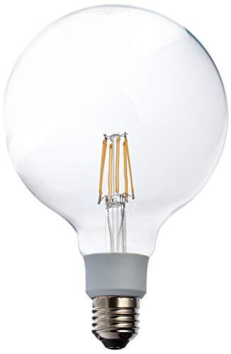 Osram LED Star+ GlowDim Classic Globe Lampe, in Ballform mit E27-Sockel, Ersetzt 60 Watt, Filamentstil Klar, Warmweiß - 2200-2700 Kelvin, 1er-Pack - Star Globe