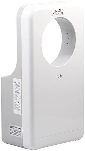 Sichler Haushaltsgeräte Handtrockner: Vollautomatischer Profi-Händetrockner mit LED-Beleuchtung, 1.450 Watt (Warmlufthändetrockner) - 230v Händetrockner