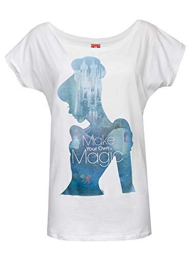 Cinderella Magic Girl-Shirt weiß XL -