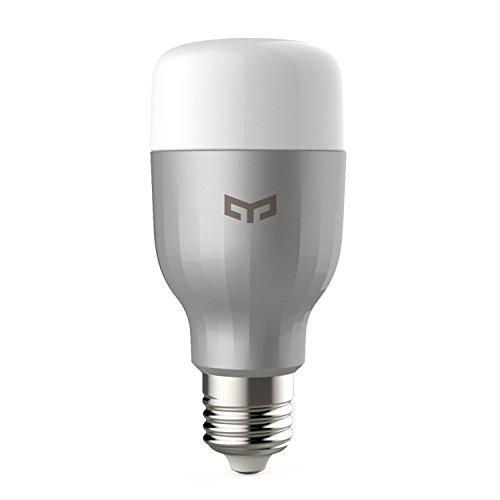 Xiaomi Smart LED Lampe, Ollivan Wifi Color dimmable E27 Lampen bis zu 16 Millionen Farben steuerbar via App, kompatibel mit Amazon Alexa Google Home