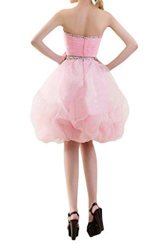 Promgirl House - Robe - Trapèze - Femme Rose - Rose