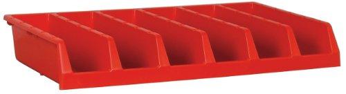 Akro-Mils 30318-System, 6-fach, 1-teilig, Schrank, Regal, Rot, 5 Stück -