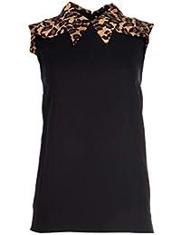 500 Mujer Camisa Mujer Ropa Negra es Amazon Más De Eur gwaYwFq