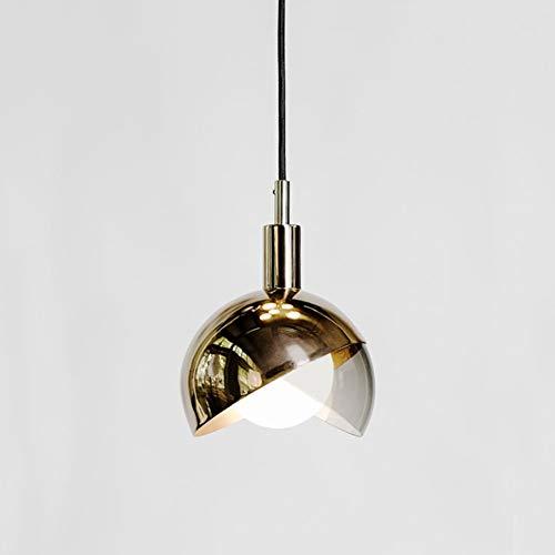 INJUICY Tom Dixon Bicchiere Lampade a Sospensione Soffitto Plafoniera Classico Arte Lamadari per Sala da Pranzo Soggiorno Camera da Letto Ristorante (Bronzo)