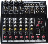 PYLE-PRO PEXM810 8 CHANNEL PROFESSIONAL AUDIO MIXER WITH PHANTOM POWER