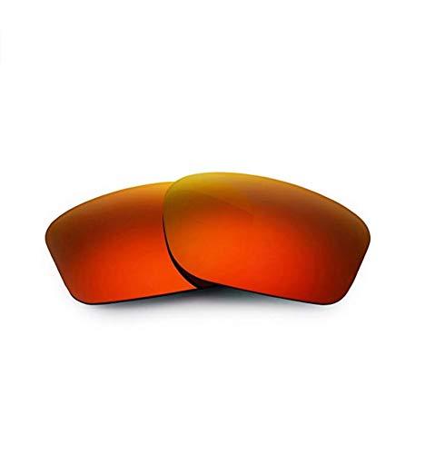 Polarisierte Ersatzgläser für Oakley OO9247 Chailink (Red) (Für Ersatz-gläser Sonnenbrille Die)