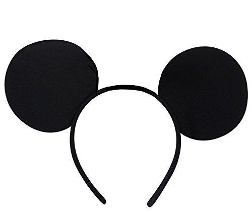 German Trendseller® - Micky Maus Ohren ┃ Kostüm ┃ Mäuserich Ohren ┃ Hier kommt die Maus !! (Disney Minnie Maus Ohren)