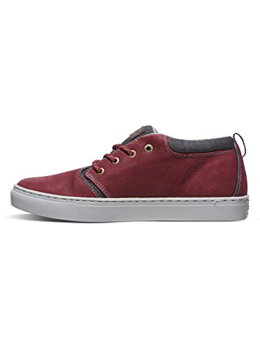 Quiksilver Griffin - Chaussures mi-Hautes pour homme AQYS100020 Rouge - Red/Grey/Grey
