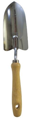 Flexrake LRB29B Maurerkelle breit mit verchromter Kopf