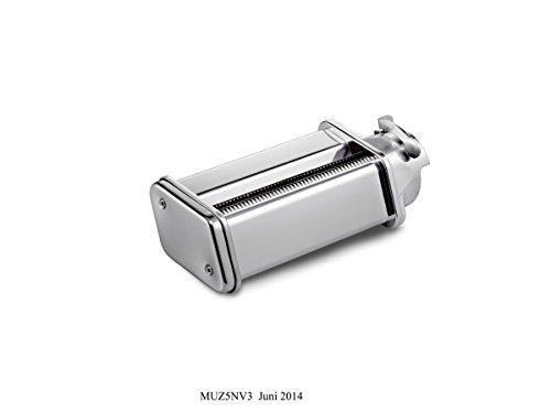 Bosch MUZ5NV2 Profi-Pastavorsatz Tagliatelle (für pasta 7 mm breit) für Küchenmaschinen MUM5 (Küchenmaschine Breit)