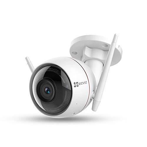 Preisvergleich Produktbild THINKMIC Intelligente Sicherheit Überwachung,  1080p HD,  Wireless,  WiFi,  Infrarot-Nachtsicht,  Ton- und Licht-Alarm,  Zwei-Wege-Stimme Intercom
