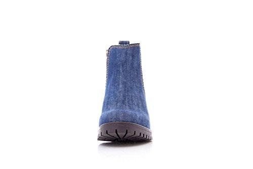DESIGUAL Chaussures femmes bottines DENIM CHARLY 17WSAFC5 5006 Denim