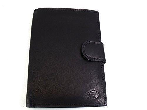 Homme de luxe haute qualité Robe de voyage Documeny support pour cartes de crédit en période de portefeuille pochette