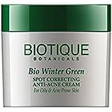 Bio Winter Green Spot Correcting Anti-Acne Cream For Oily and Acne Prone Skin