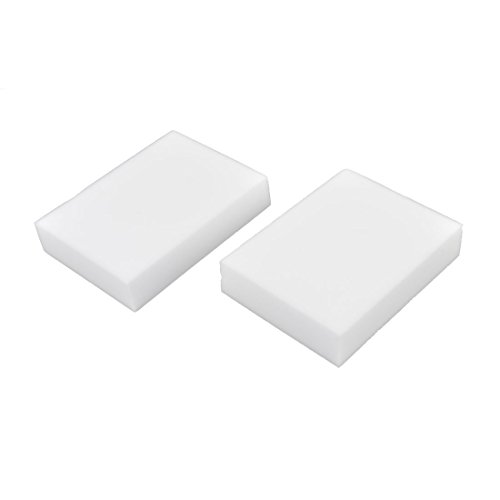 sourcingmapr-sponge-kitchen-bowl-dish-cleaning-tool-scrub-stain-dirt-remover-pad-2-pcs-white