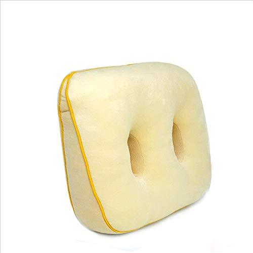 ZMXZMQ Cuscino di Seduta Comfort Premium, Schiuma di Memoria Cuscino da Sollievo Osseo per Culo, Parte Inferiore della Schiena, Muscoli Posteriori, Fianchi, Tuberosità Ischiatica,Yellow