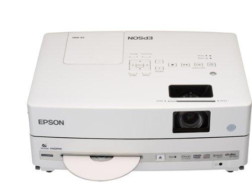 Epson EB-W8D LCD-Projektor (WXGA,  Pixel , Kontrast 3000:1, 2500 ANSI Lumen)