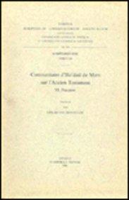 Commentaire D'iso'dad De Merv Sur L'ancien Testament, VI. Psaumes. Syr. 186.