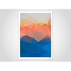 Lima/Poster, Kunstdruck, Bilder, Kunstdrucke, Deko, skandinavisch, Papier, Pastell, Marmor, Blumen, Rosen, geometrisch, Frühling, Sommer