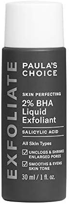 Paula's Choice skin perfecting 2 % BHA salicylsyra liquid peeling – ansikte exfoliator mot pormaskar, finn