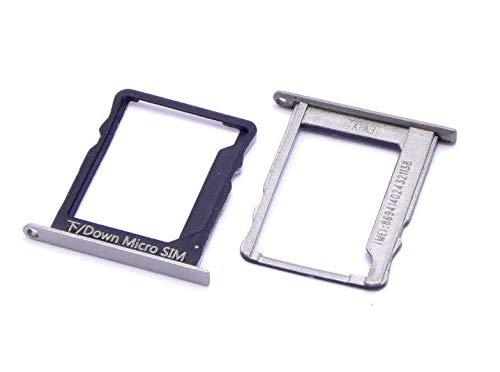 handywest Huawei P8 Lite SIM Karte Karten Micro SIM Card Halter Schlitten Holder Tray Slot Einschubfach SIM Card Holder Adapter Halterung Schlitten Nano SIM Halter SIM Fach Tray Slot