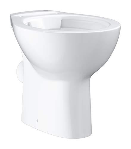 GROHE BAU Keramik Stand-Tiefspül-WC, Sanitärkeramik, Alpinweiß, One Size