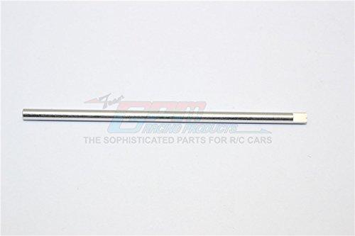 XMods Generation 1 Upgrade Pièces Aluminium Center Shaft (Original Size For 2WD) - 1Pc Silver