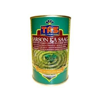 Sarson Ka Saag / Grüne Senfblätter in Currysauce TRS 450g Dose